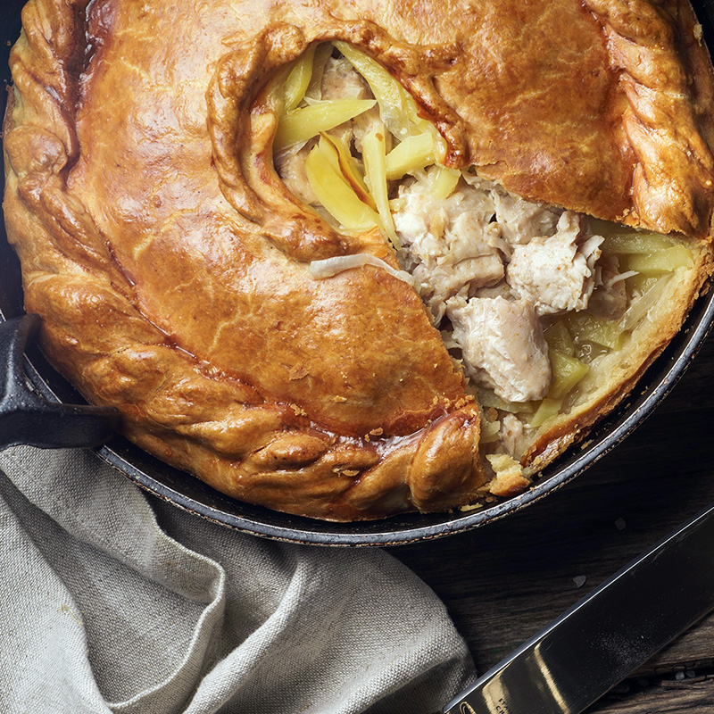 Absolute Cuisine Chicken pie