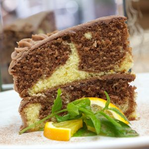 Absolute Cuisine Chocolate orange marble cake