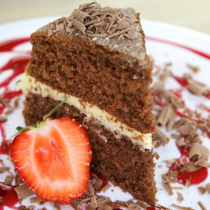 Absolute Cuisine Chocolate sponge cake