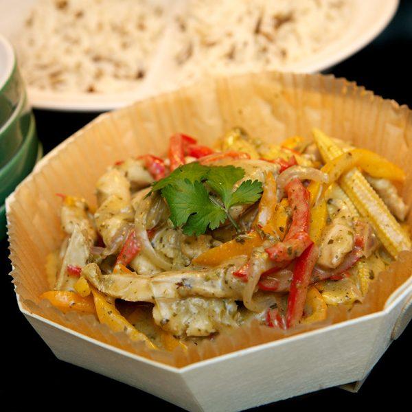 Absolute Cuisine Thai Chicken curry