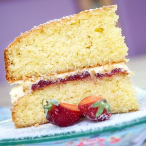 Absolute Cuisine Victoria sponge cake