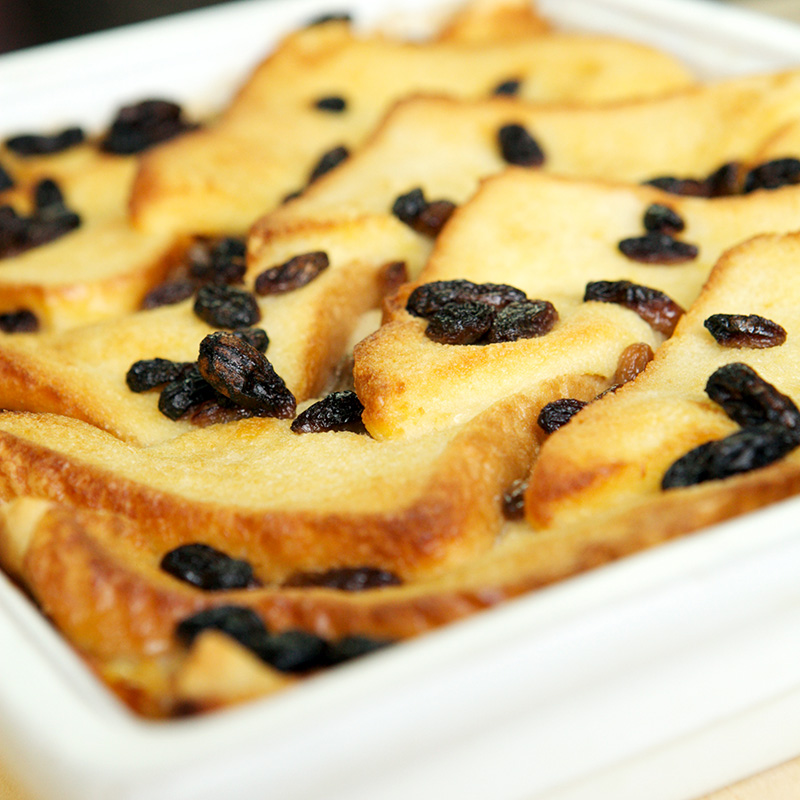 Absolute Cuisine bread butter pudding