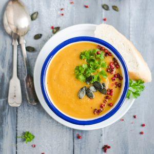 Absolute Cuisine coriander lentil soup