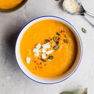 Absolute Cuisine sweet potato soup
