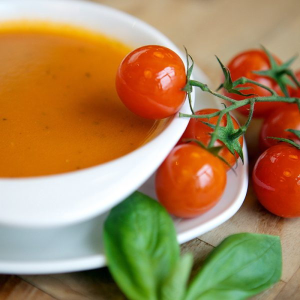 Absolute Cuisine tomato basil soup
