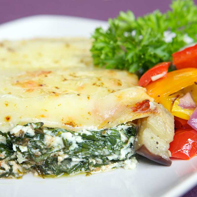 Absolute Cuisine vegetable cannelloni