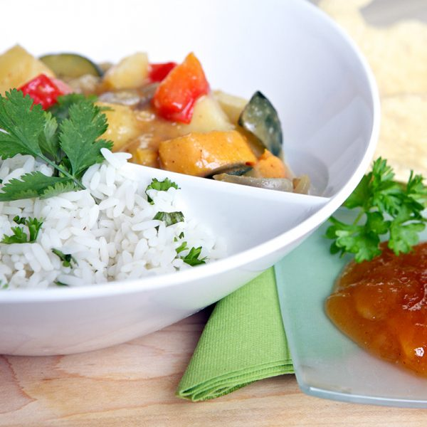 Absolute Cuisine vegetable curry