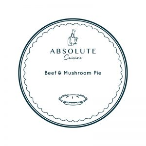 Absolute Cuisine Beef & Mushroom Pie