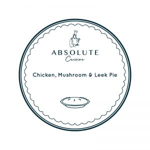 Absolute Cuisine Chicken Mushroom pie