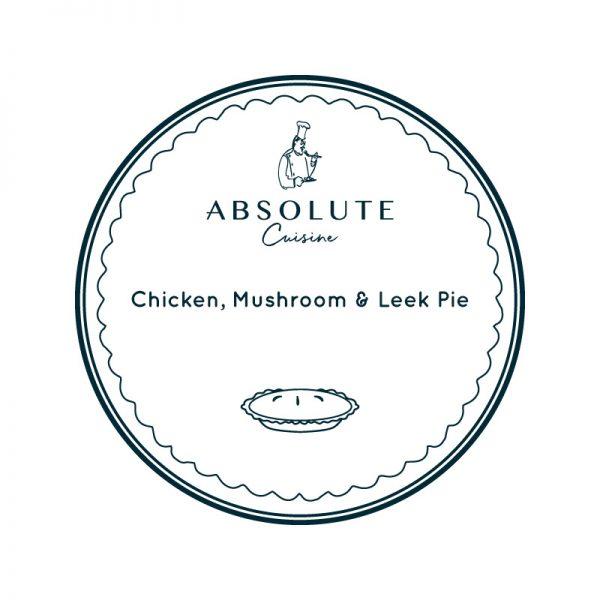 Absolute Cuisine Chicken Mushroom pie