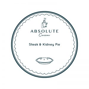 Absolute Cuisine Steak & Kidney Pie