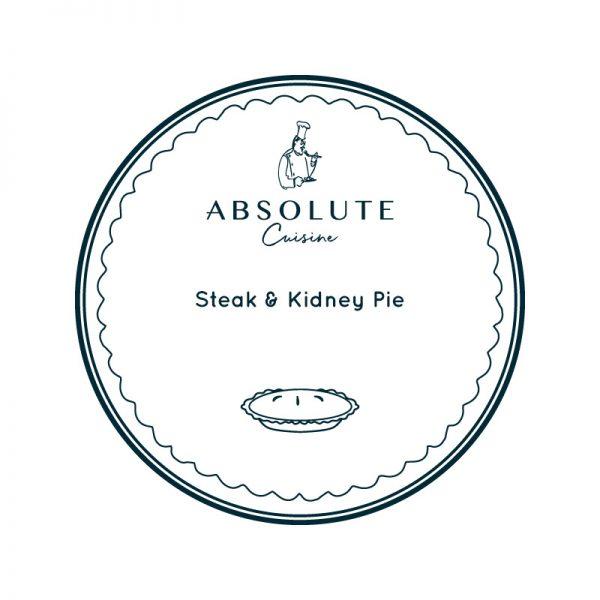 Absolute Cuisine Steak & Kidney Pie
