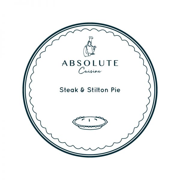 Absolute Cuisine Steak & Stilton Pie